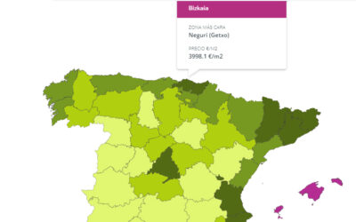 LAS ZONAS MÁS CARAS DE ESPAÑA PARA COMPRAR CASA