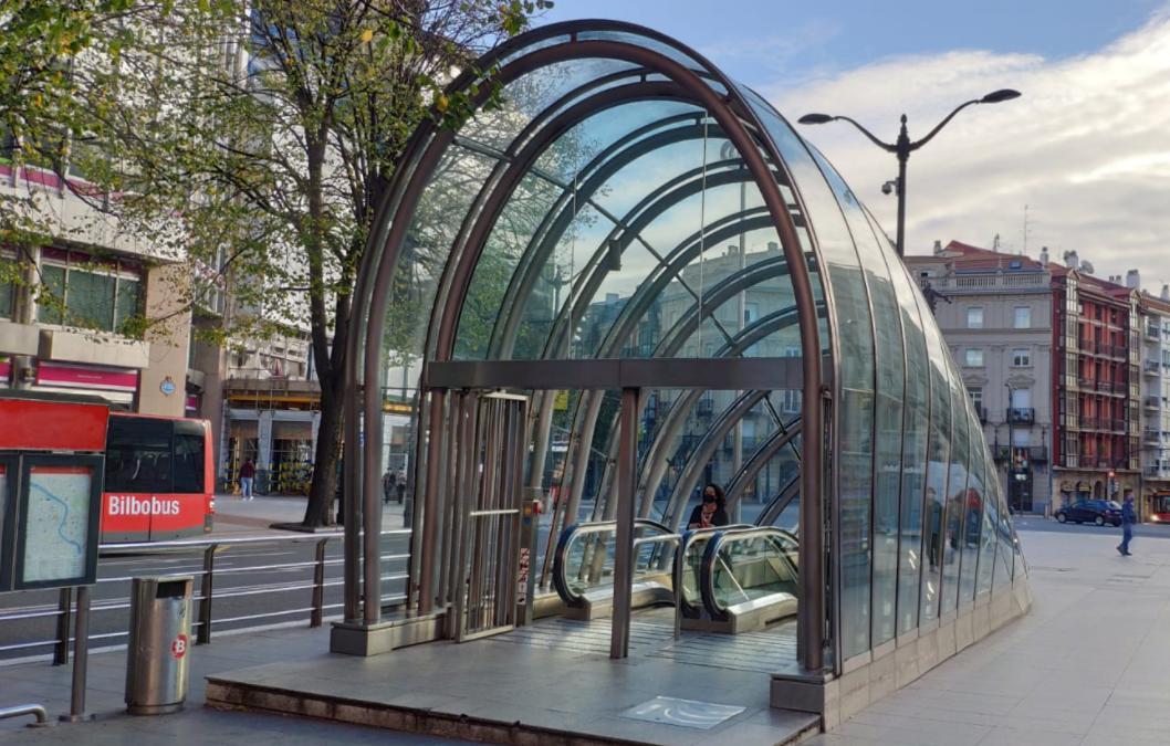 Metro Bilbao: un lugar seguro frente al Covid