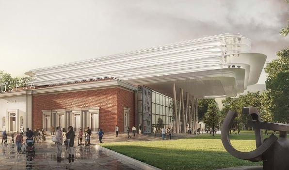 Toma forma el proyecto de Norman Foster en el Museo de Bellas Artes