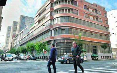 La transformación del edificio Ellacuria: un hotel y 80 viviendas